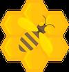 bee noneycomb logo 100