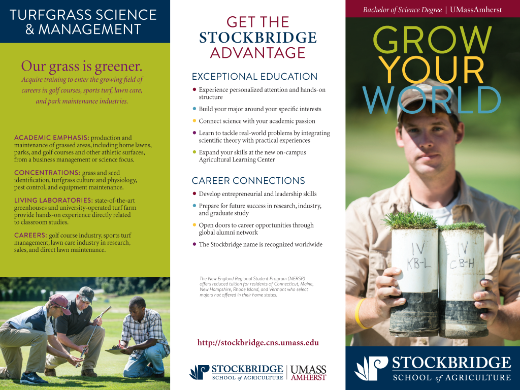 Stockbridge School recruitment trifold